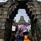 Yogyakarta. Borobudur hat insgesamt neun Stockwerke.
