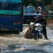 Jakarta, bei Vollmond ist mit Hochwasser zu rechnen.