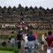 Yogyakarta. Borobudur, eine der grössten buddhistischen Tempelanlagen Südostasiens.