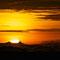 Sonnenaufgang um 5:24 Uhr auf dem Mount Penanjakan.