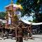 Balinesische Verbrennungszeremonie.
