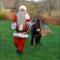 Le Père-Noël et Gaston