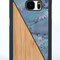 Galaxy s7 bamboo case blue seashell