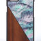 Galaxy s8 elegance walnut wood nacre blue