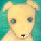 「わんこ」               F3キャンバス       油彩