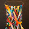 「祈りのカタチ2」F30 (727×910mm)キャンバス、刺繍、アクリル、メディウム