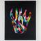 「透明なカタチ」F30号キャンバス(910x727mm)刺繍、アクリル