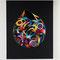 「和音のカタチ」F30号キャンバス(910x727mm)刺繍、アクリル