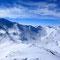 Die Schweizer und Österreicher Alpen