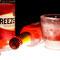 Bacardi Breezer con bicchiere di ghiaccio