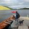 Wir warten auf das Boot nach Namdalen