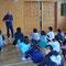 最後は出発地の北地区児童センターに集まって「閉講式」
