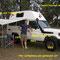 Stolzer Dani mit unserem Bushcamper