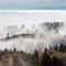 Die Nebelobergrenze liegt bei 640 m.ü.M.