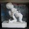 """Little Sista / Pappe, Plastik, Acryl - aus Werkgruppe: """"frei nach Michelangelo"""""""