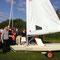 Bootstaufe des neuen Vereinsbootes Laser/Radial...