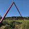 triangulum 2018  klangweg zum jexhof schöngeising   stahl rot  300x900