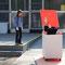 3 sekunden berühmt  2013  aktion vor pinakothek der moderne münchen   foto: ingrid gaier