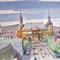 Hans Wittl: Katschhof mit Rathaus