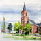 Kalender Würselen 2012: St. Peter und Paul in Bardenberg