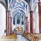 Kalender Würselen 2012: St. Lucia in Weiden, gestaltet vom bekannten Glasmaler Ludwig Schaffrath aus Alsdorf