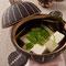 土鍋(中) 湯豆腐! photo by NorikoMomoi