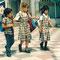 Schulkinder, Las Palmas, Gran Canaria, Spanien