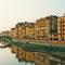 Arno, Florenz, Italien