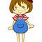 『コロール』 コイケヤポテトチップスのキャラクター公募のために描いた作品  2012.11.30 FireAlpaca,Photoshop Elements9