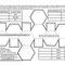 Abgestumpftes Oktaeder blanko Farbflächen
