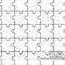 4 Tesselation Mandala Puzzelteile