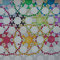 43 Mandala Jack Chain Quilt Pattern Briefmarkenquilt