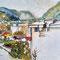Lienz-Moarfeld: Blick vom Balkon