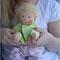 Кукла очень нежная, светлая, мягкая и натуральная
