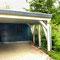 Carport mit Dachbegrünung