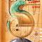 Affiche 18ème Festival de Sculpture Camille Claudel de La Bresse (Vosges) - 2008 - Dessin au crayon - Thème: Equilibre<br><br>Illustration . dessin . peinture