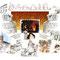 Cloches de Cornimont - Image coulée et baptême cloches de Cornimont (88) - encre couleur et crayon noir - 70 x 50 cm - 2015<br><br>Illustration . dessin . peinture . église