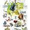 Une Terre, des Hommes, le Vin - Image d'Epinal - 50 x 65 cm - 2006<br><br>Artiste peintre . illustrateur . imagier . illustration à thème . portrait . histoire du vin . vignoble . vigneron . terroir . viticulture . raisin