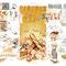 Le Pain - Image d'Epinal - 65 x 50 cm - 2010<br><br>Artiste peintre . illustrateur . imagier . illustration à thème . illustration pain . boulangerie . boulanger . histoire du pain