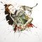 Edgard Assassin's Creed - Portrait encre couleur et crayon noir sur papier - 50 x 70 cm - 2017 <br><br>Illustration . dessin . animalier . costume . chat