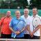 Herren Doppel: Florian Blank, Oliver Kratz (Sieger), Frank Spatz, Klaus Reitzmann (Sieger)
