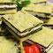 Mini-Quiche mit Spinat/Schafskäse
