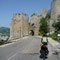 Am Anfang des Eisernen Tors hinter Golubac, Serbien.