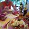 Yummy Abendessen in Belene, Bulgarien.