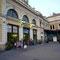 Hauptbahnhof in Belgrad, Serbien.
