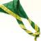 Foulard jaune et vert