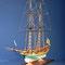 51    アンフィオン    AMPHION  年代:   1778   船籍: スエーテ゜ン  縮尺:   1/40    コーレル  製作者:  大池 誠  製作期間:  3年