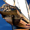 49    インデスクリート    INDISCRET  年代:   1750   船籍: フランス  縮尺:    1/50    アエロピコラ    製作者: 木村 護   製作期間: 1年10ヶ月
