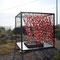 """""""le vent en Cage"""", installation 2, juillet 2009, Mèze (34)"""