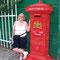 Im Freilichtmuseum von Arnheim: ein alter Briefkasten